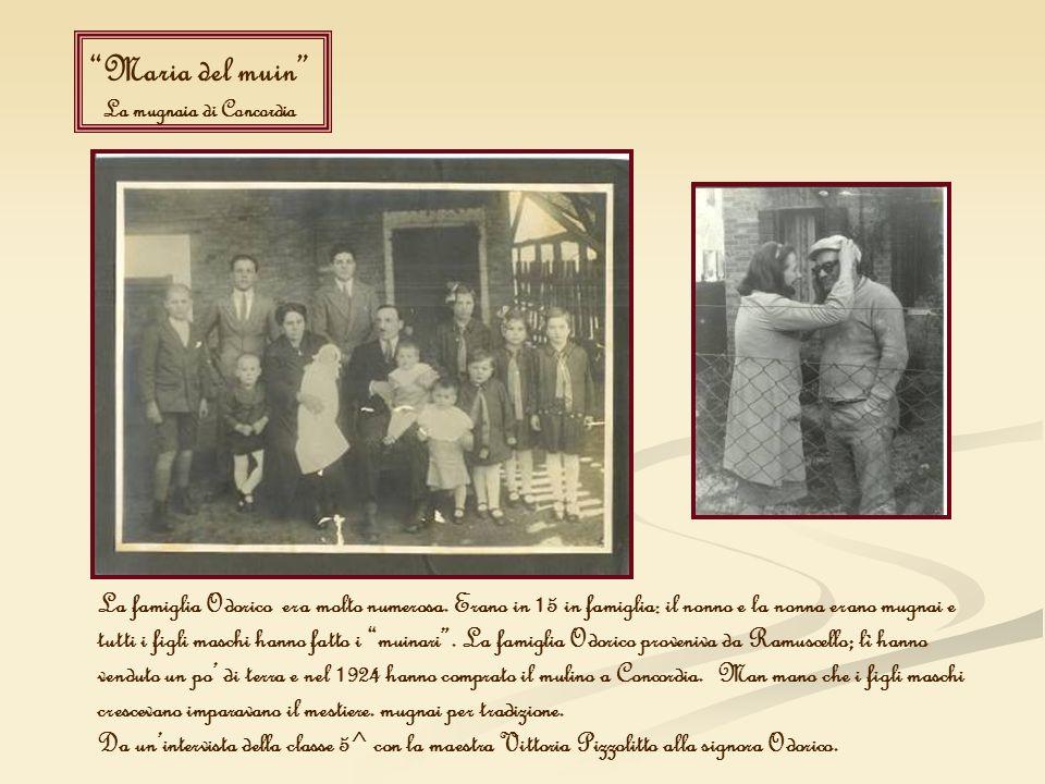 Maria del muin La mugnaia di Concordia.