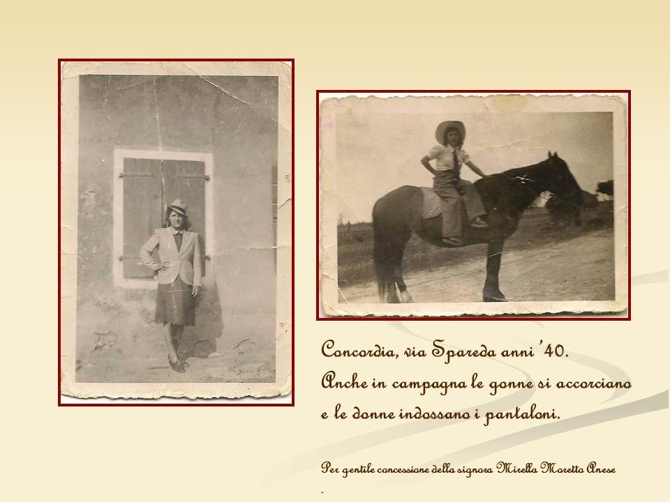 Concordia, via Spareda anni '40.