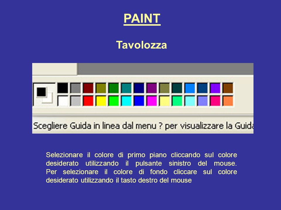 PAINT Tavolozza.