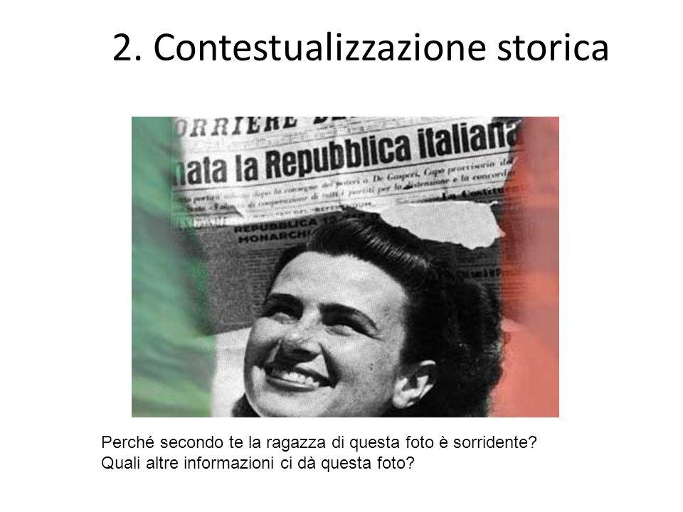 2. Contestualizzazione storica