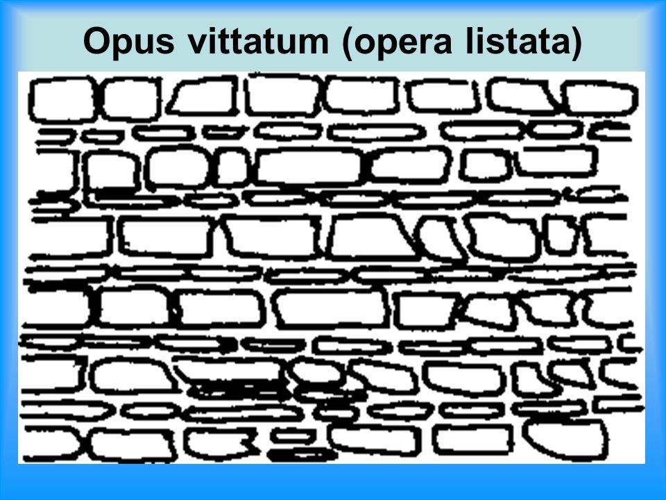 Opus vittatum (opera listata)
