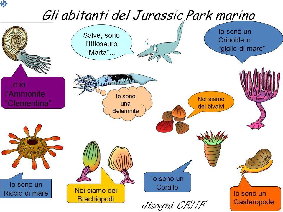 Gli abitanti del Jurassic Park marino