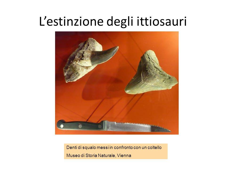 L'estinzione degli ittiosauri