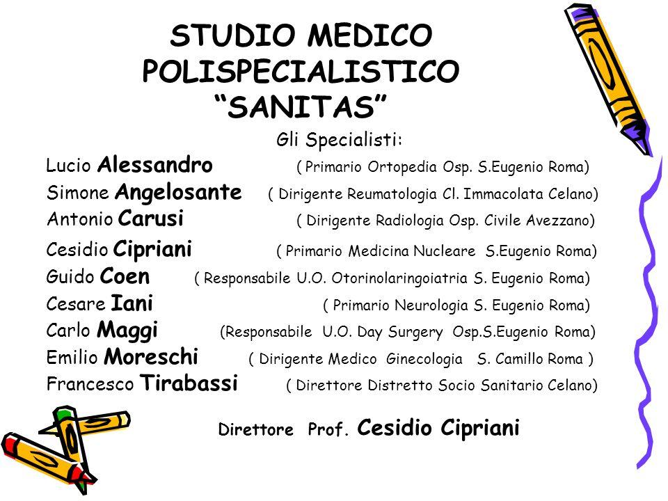 STUDIO MEDICO POLISPECIALISTICO SANITAS