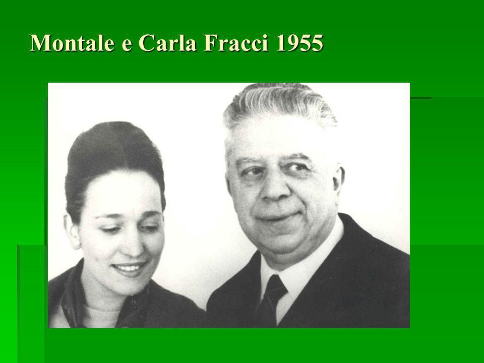 Montale e Carla Fracci 1955