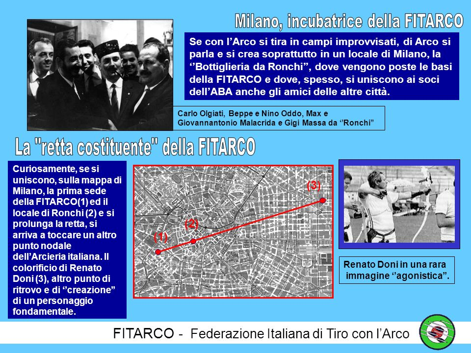 Milano, incubatrice della FITARCO