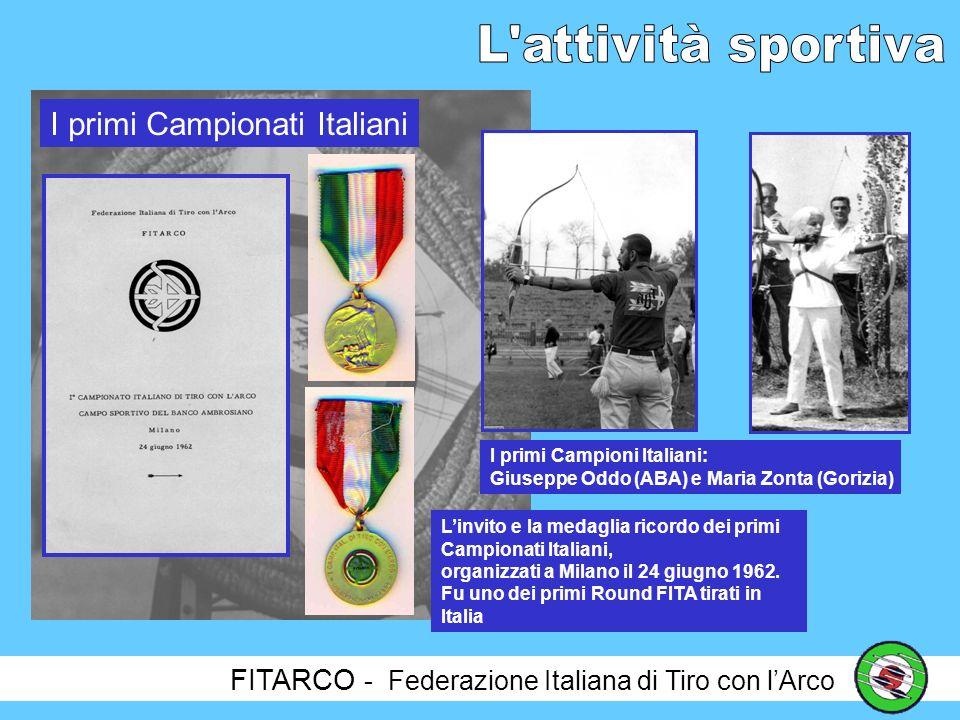I primi Campionati Italiani