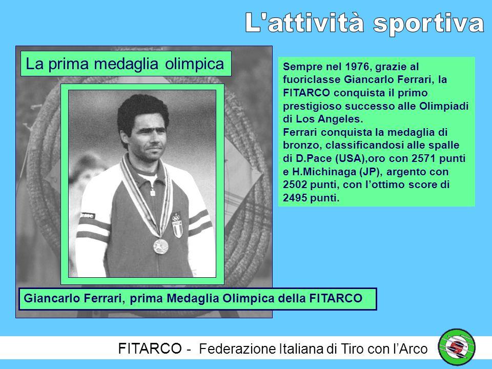 La prima medaglia olimpica