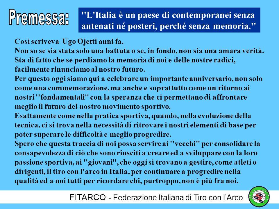 Premessa: L Italia è un paese di contemporanei senza