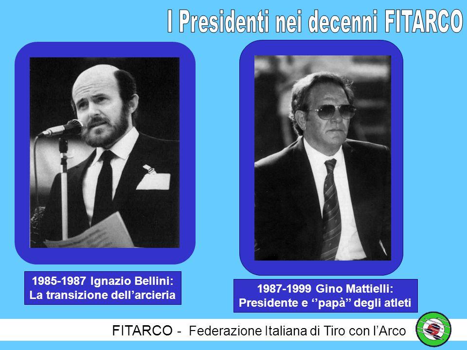 La transizione dell'arcieria Presidente e ''papà'' degli atleti