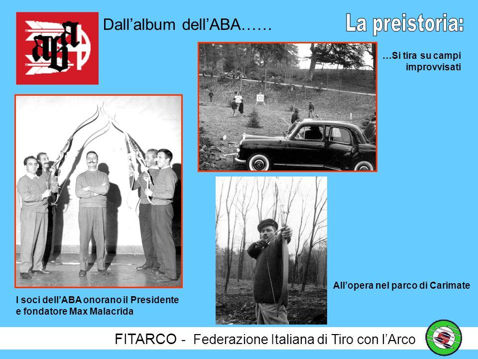 Dall'album dell'ABA…… La preistoria: