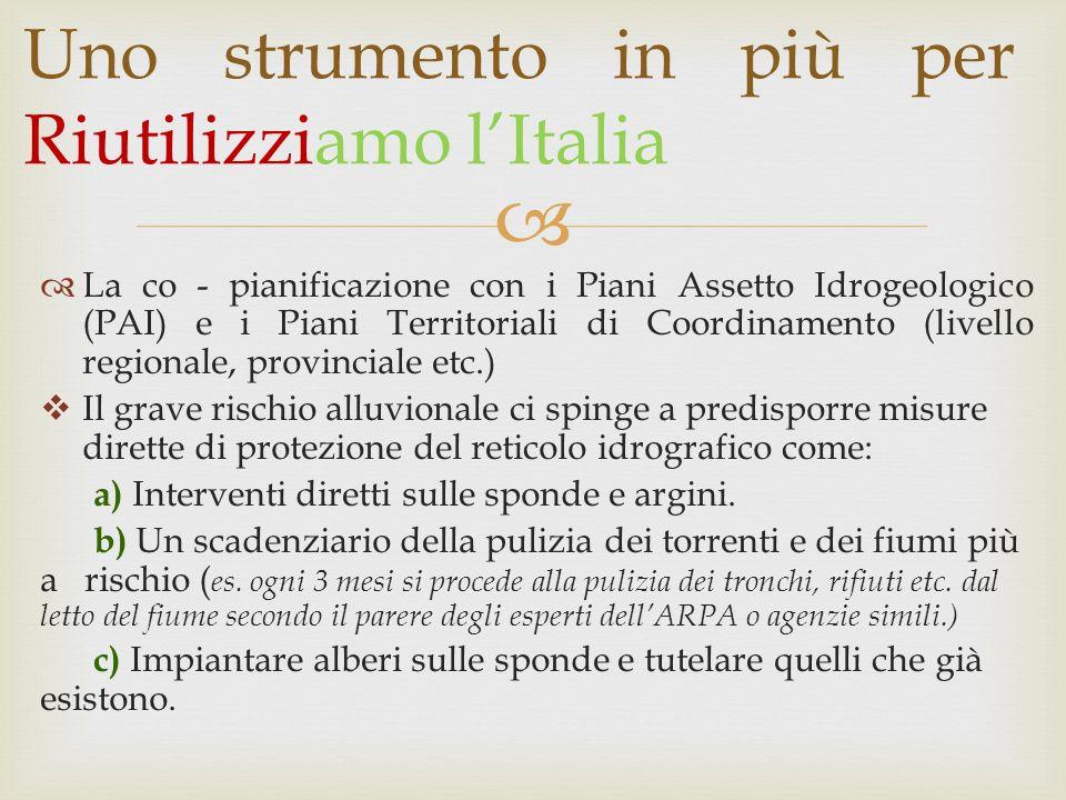 Uno strumento in più per Riutilizziamo l'Italia