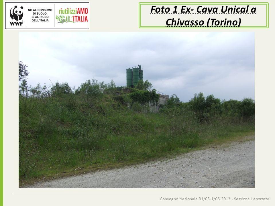 Foto 1 Ex- Cava Unical a Chivasso (Torino)