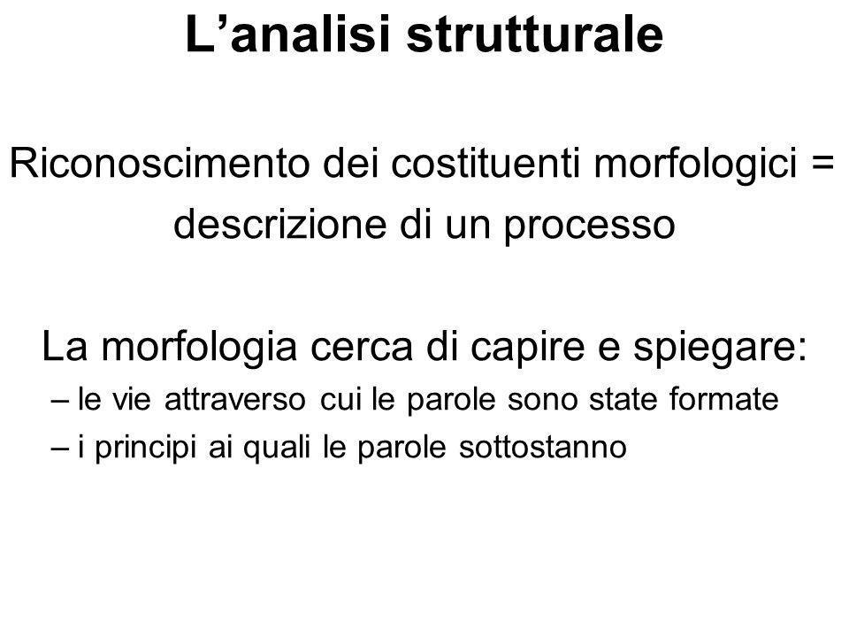 L'analisi strutturale