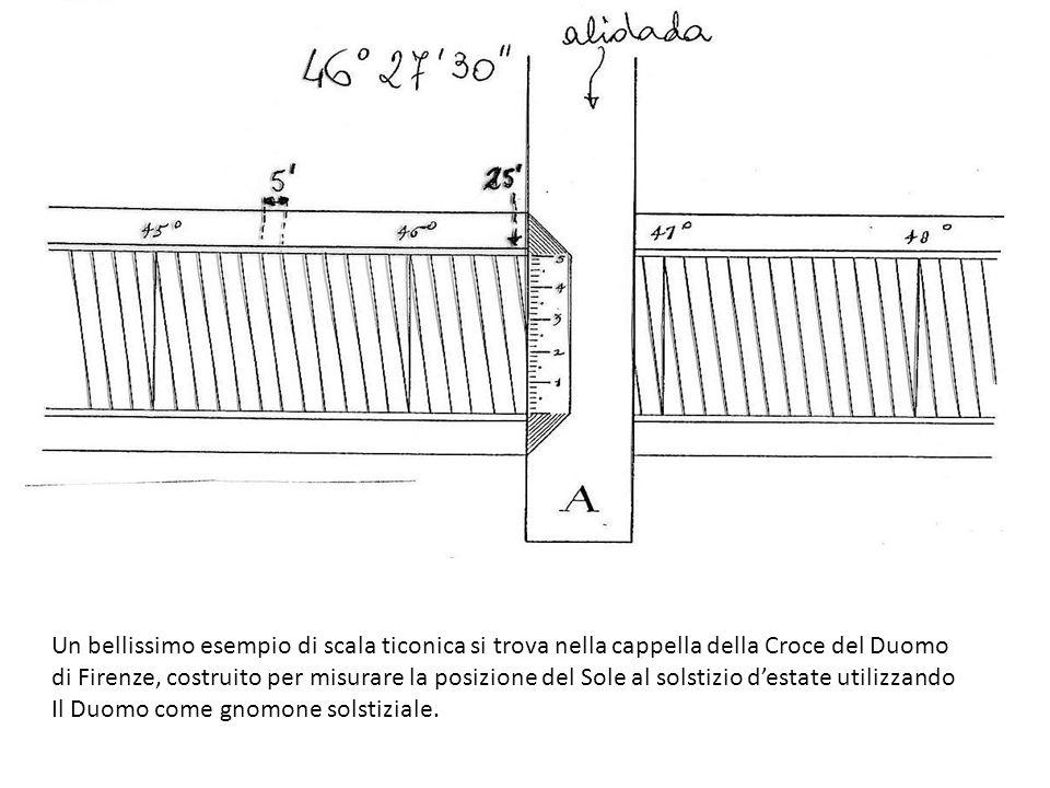 Un bellissimo esempio di scala ticonica si trova nella cappella della Croce del Duomo