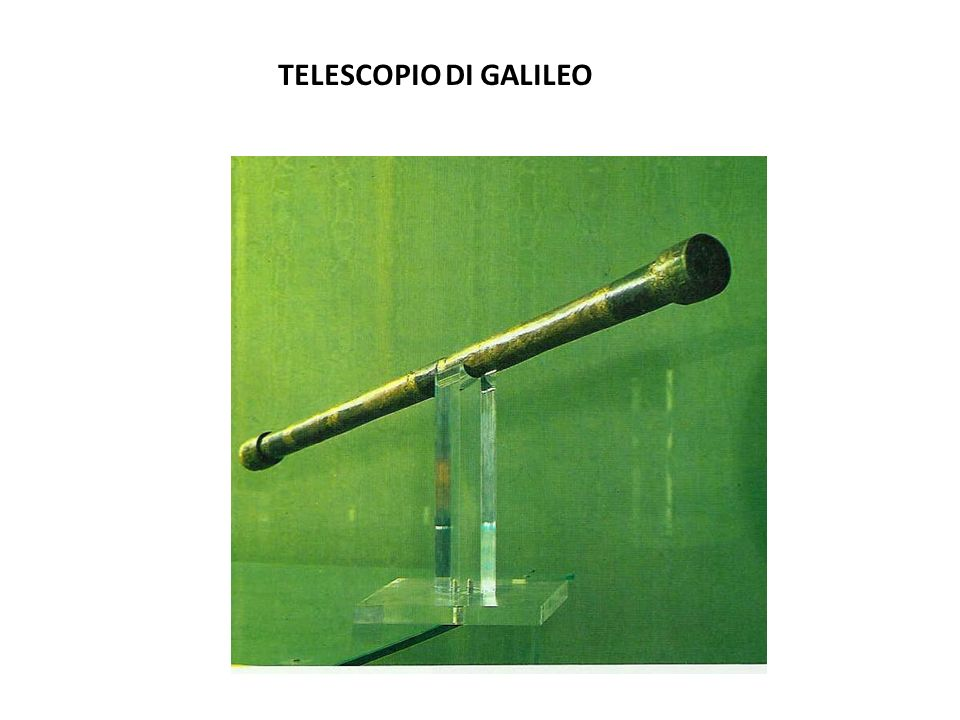 TELESCOPIO DI GALILEO