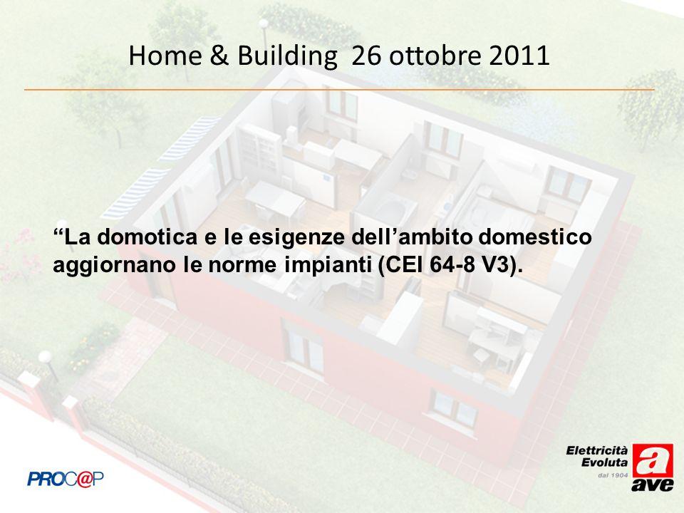 Home & Building 26 ottobre 2011