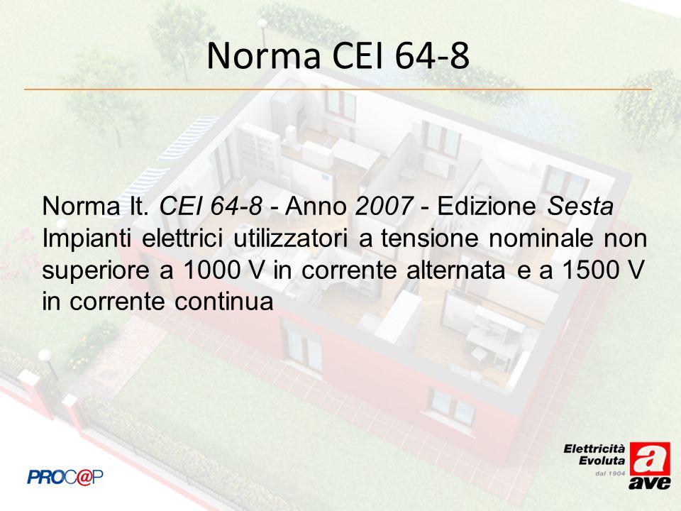 Norma CEI 64-8