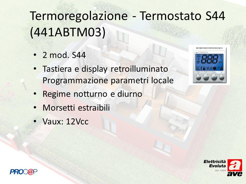 Termoregolazione - Termostato S44 (441ABTM03)