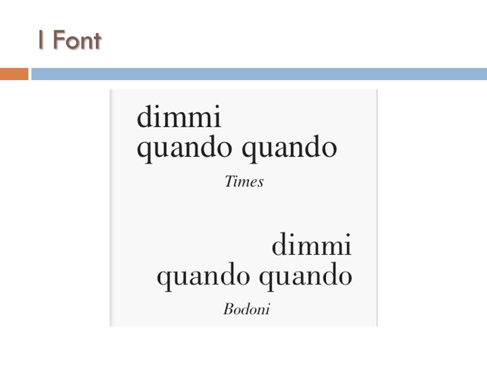 I Font