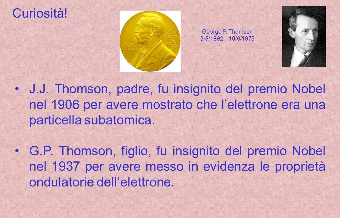Curiosità! George P. Thomson. 3/5/1892 – 10/9/1975.