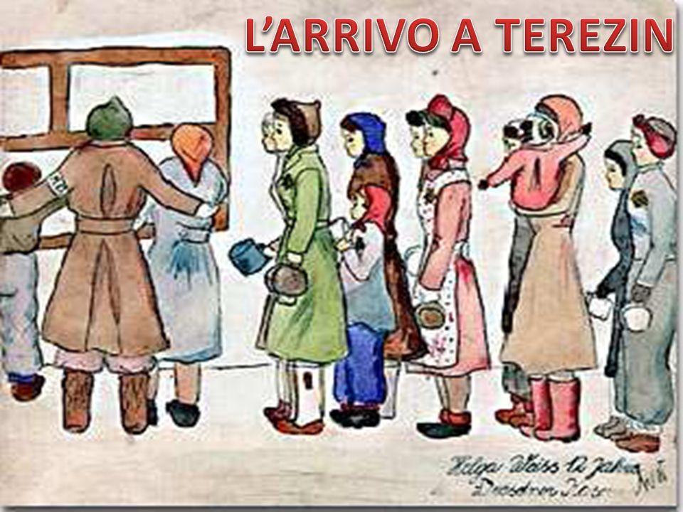 L'ARRIVO A TEREZIN