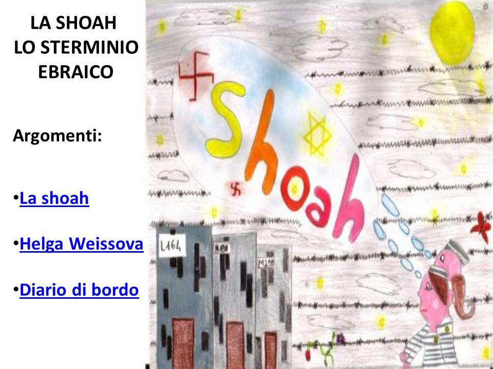 LA SHOAH LO STERMINIO EBRAICO