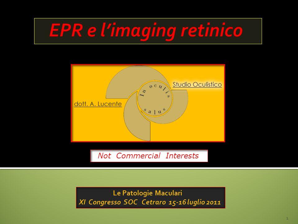 EPR e l'imaging retinico