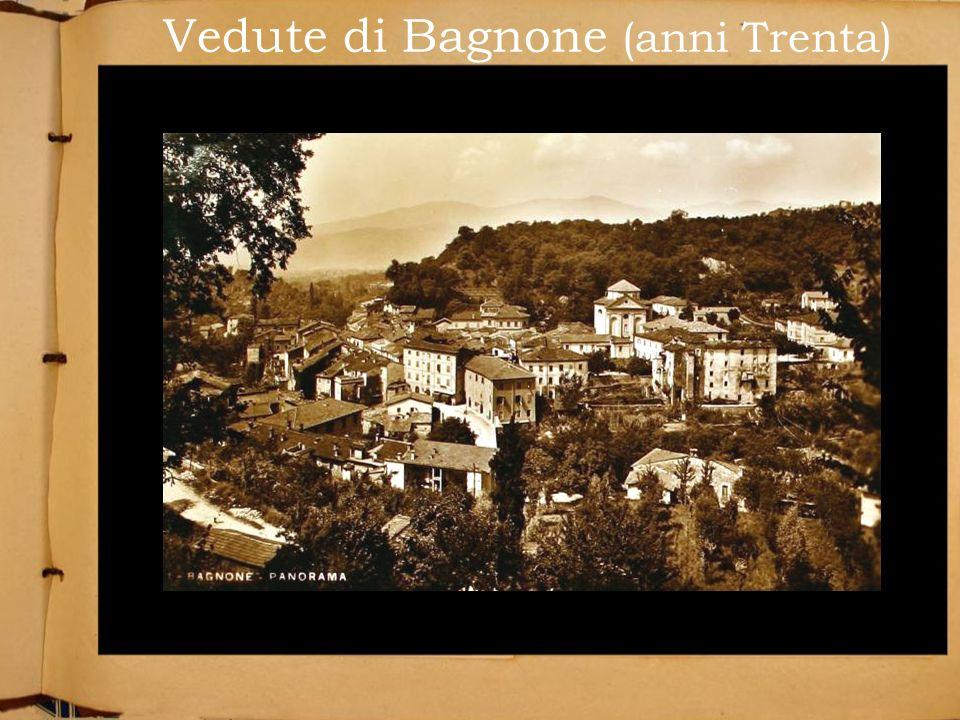 Vedute di Bagnone (anni Trenta)
