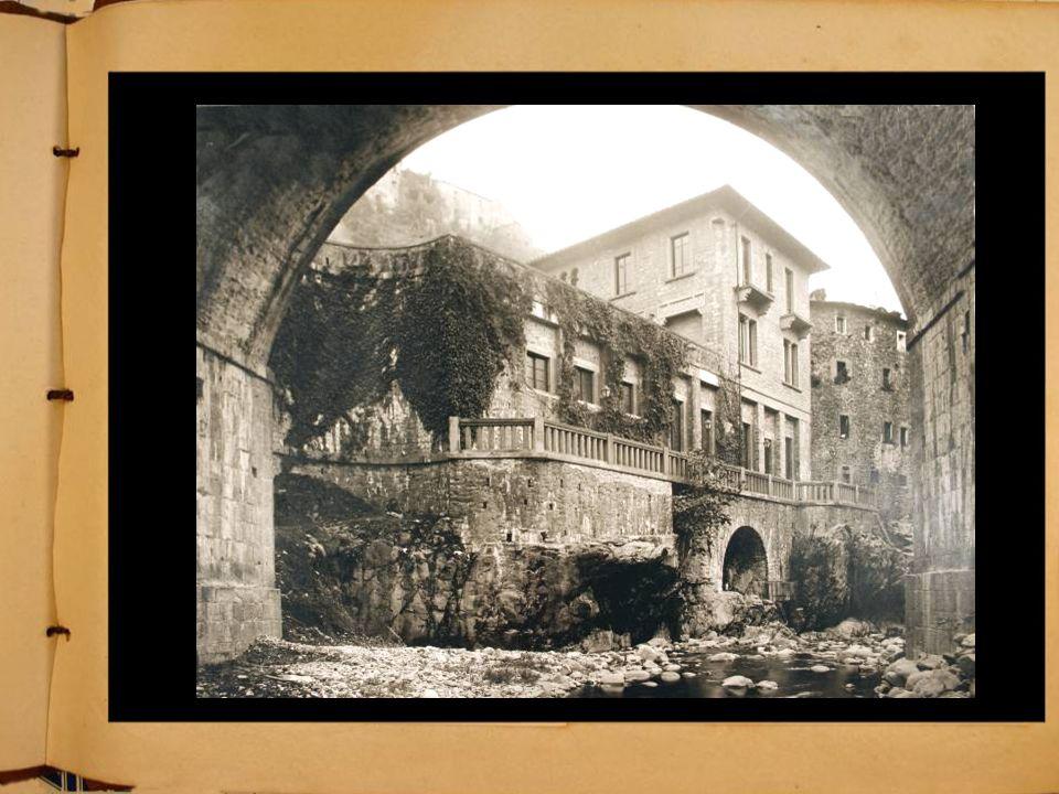 Il complesso del Dopolavoro prima della costruzione del Teatro