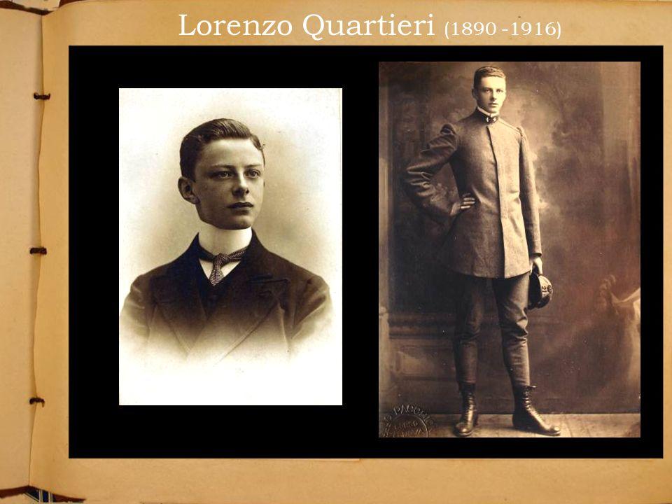 Lorenzo Quartieri (1890 -1916)