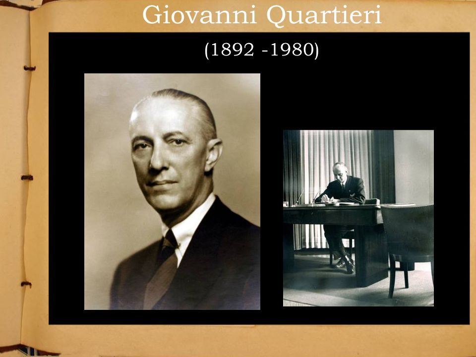 Giovanni Quartieri (1892 -1980)