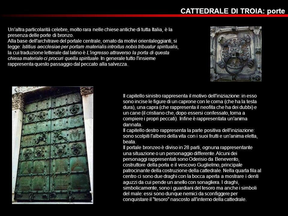 CATTEDRALE DI TROIA: porte