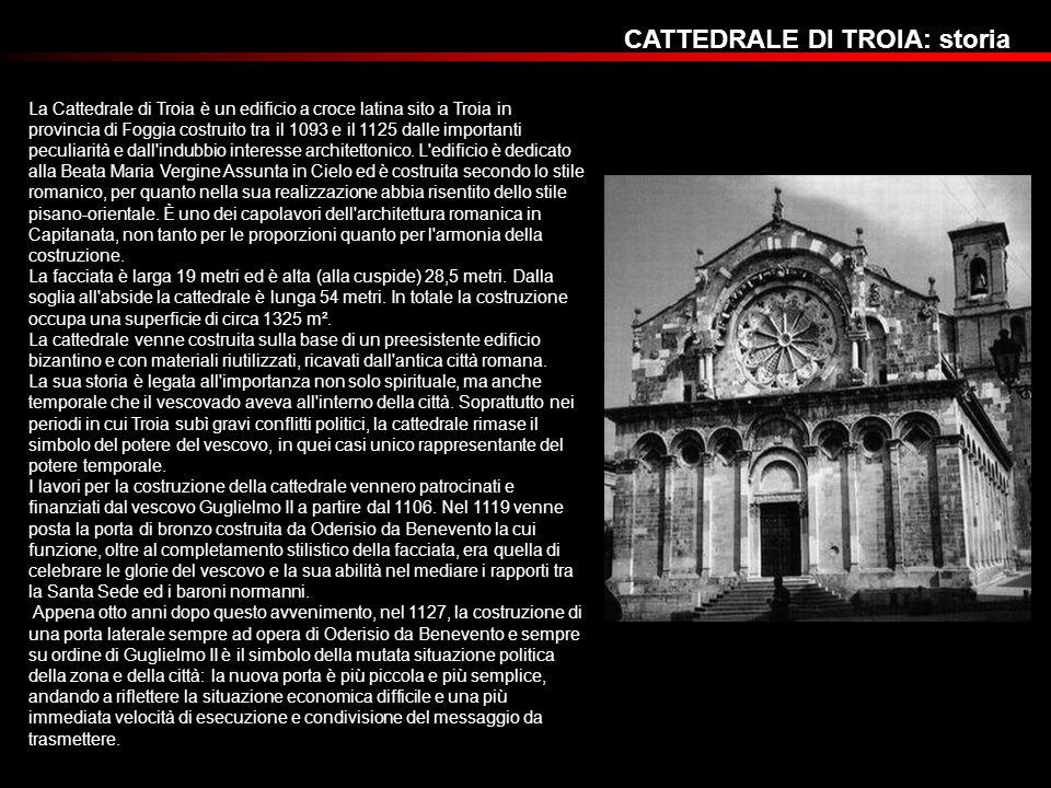 CATTEDRALE DI TROIA: storia