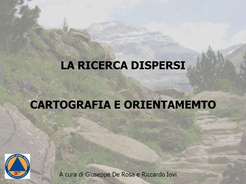 CARTOGRAFIA E ORIENTAMEMTO