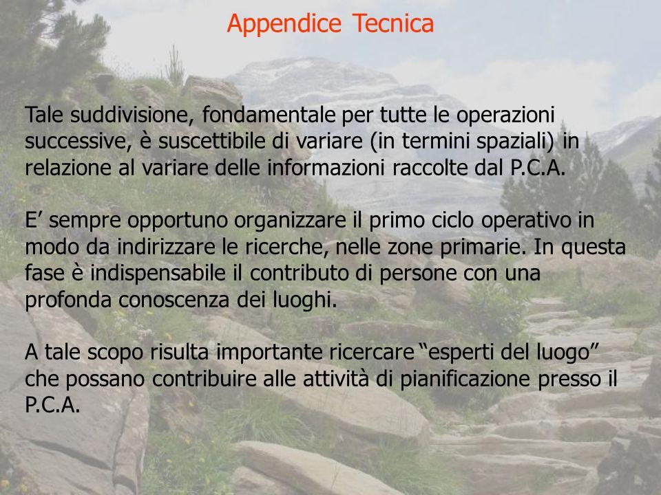 Appendice Tecnica