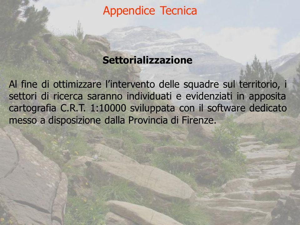 Appendice Tecnica Settorializzazione