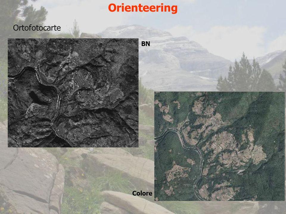 Orienteering Ortofotocarte BN Colore