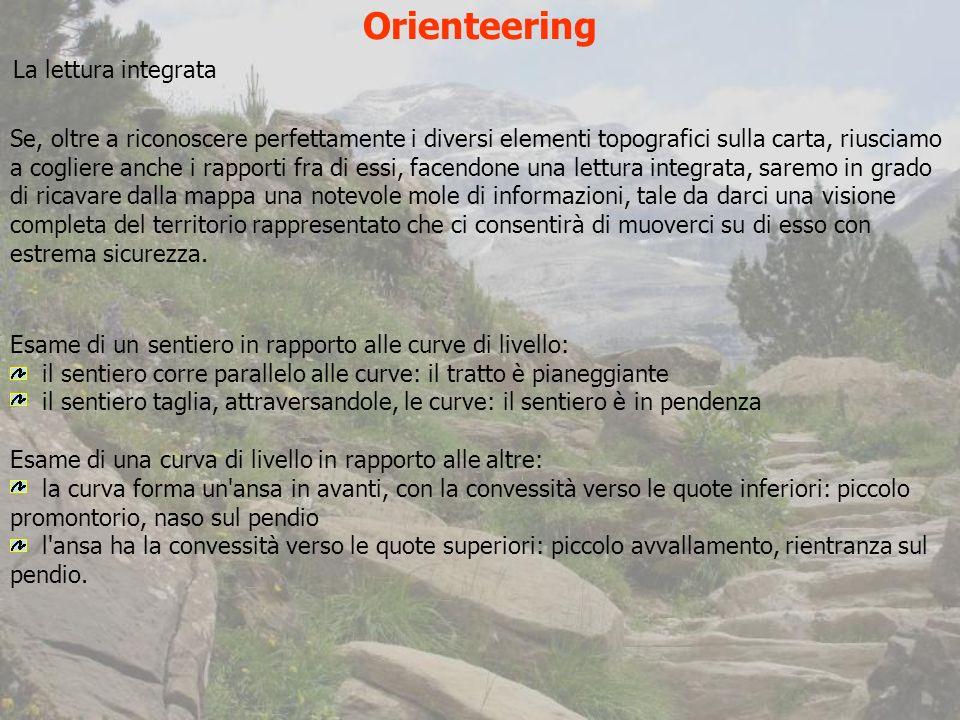 Orienteering La lettura integrata