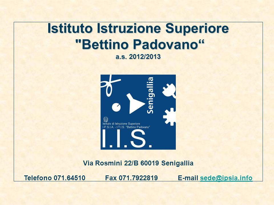 Via Rosmini 22/B 60019 Senigallia