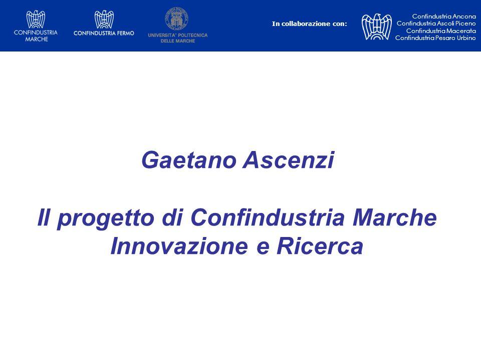 Il progetto di Confindustria Marche Innovazione e Ricerca