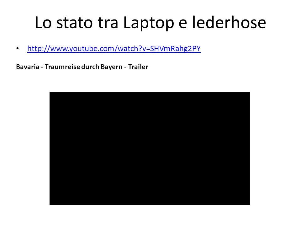 Lo stato tra Laptop e lederhose