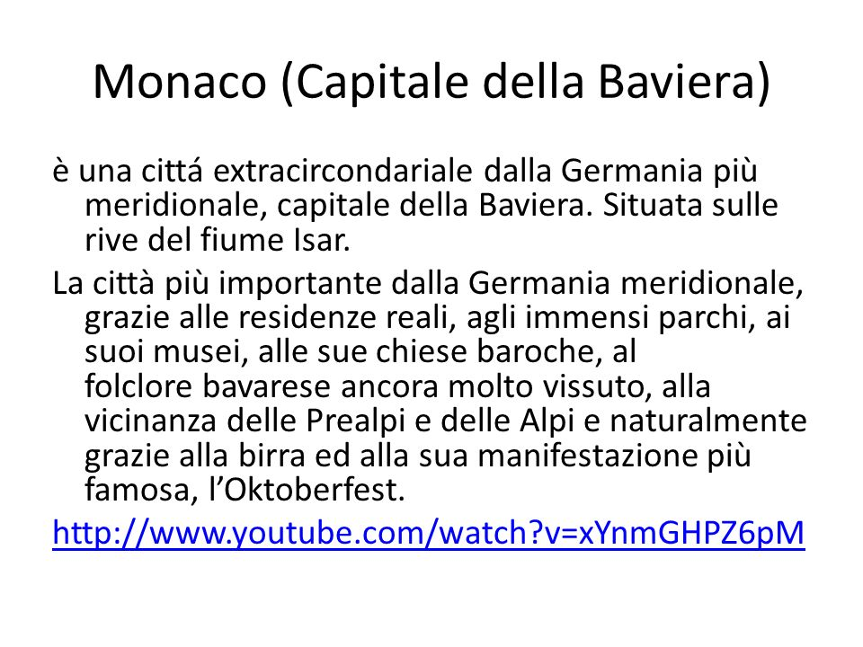 Monaco (Capitale della Baviera)