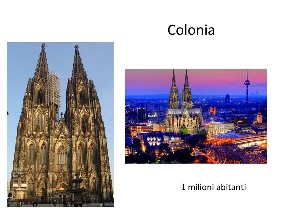 Colonia 1 milioni abitanti