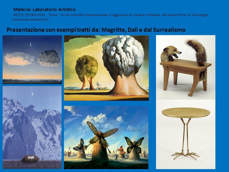 Presentazione con esempi tratti da: Magritte, Dalì e dal Surrealismo