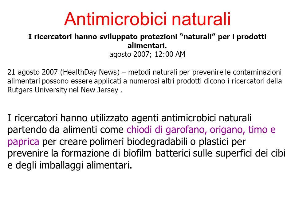 Antimicrobici naturali