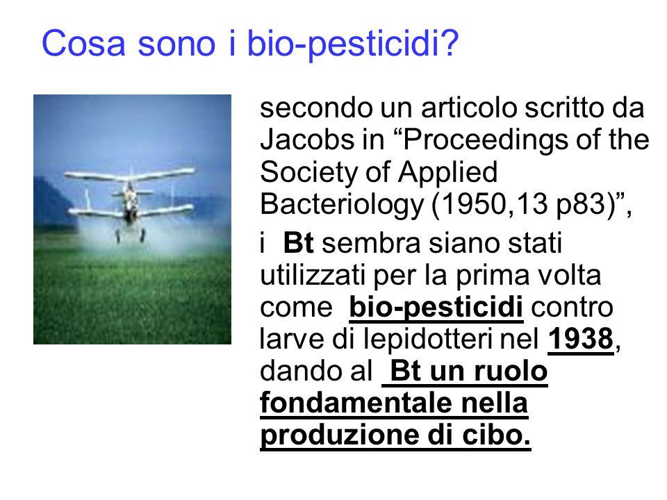 Cosa sono i bio-pesticidi