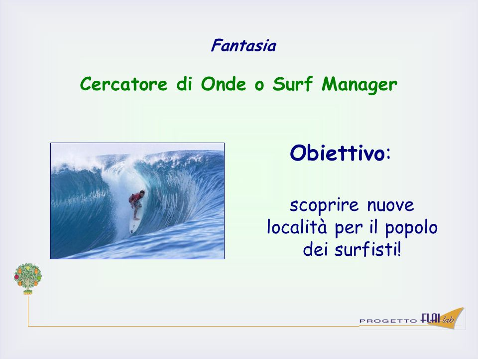 Cercatore di Onde o Surf Manager