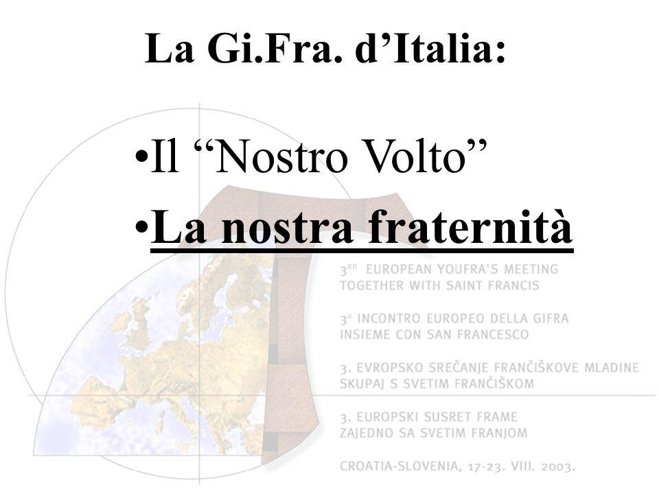 La Gi.Fra. d'Italia: Il Nostro Volto La nostra fraternità