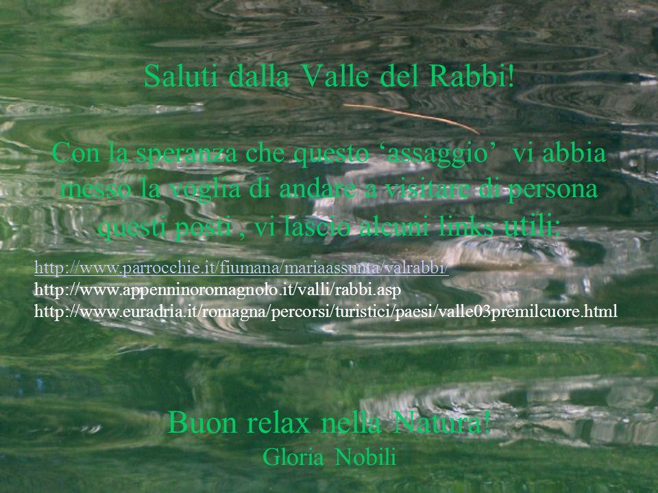 Saluti dalla Valle del Rabbi